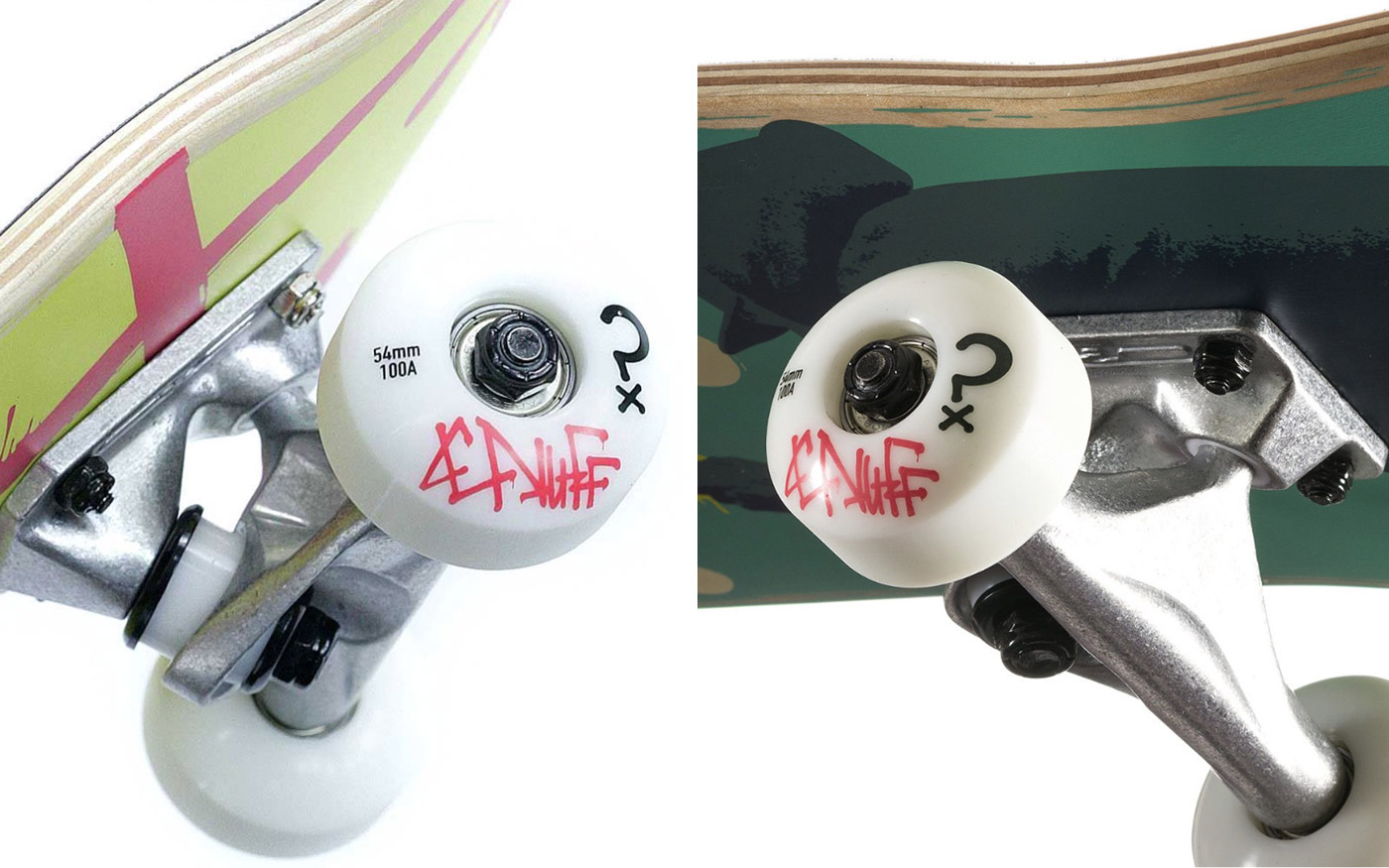 ENUFF SKATEBOARD RICKY ALSO COLLAB SKATEBOARD DESIGNS