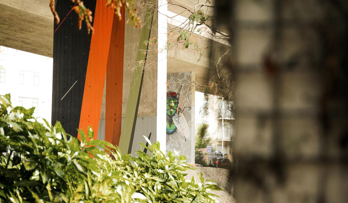 UPSIDE GALLERY street artist and graffiti artist murals in Bournemouth Remi Rough