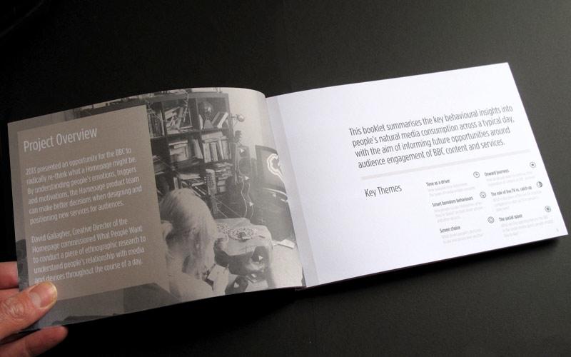 BBC MEDIA PATTERNS RESEARCH BEHAVIOUR BOOK DESIGN & ILLUSTRATION WHAT PEOPLE WANT PAINTSHOP STUDIO