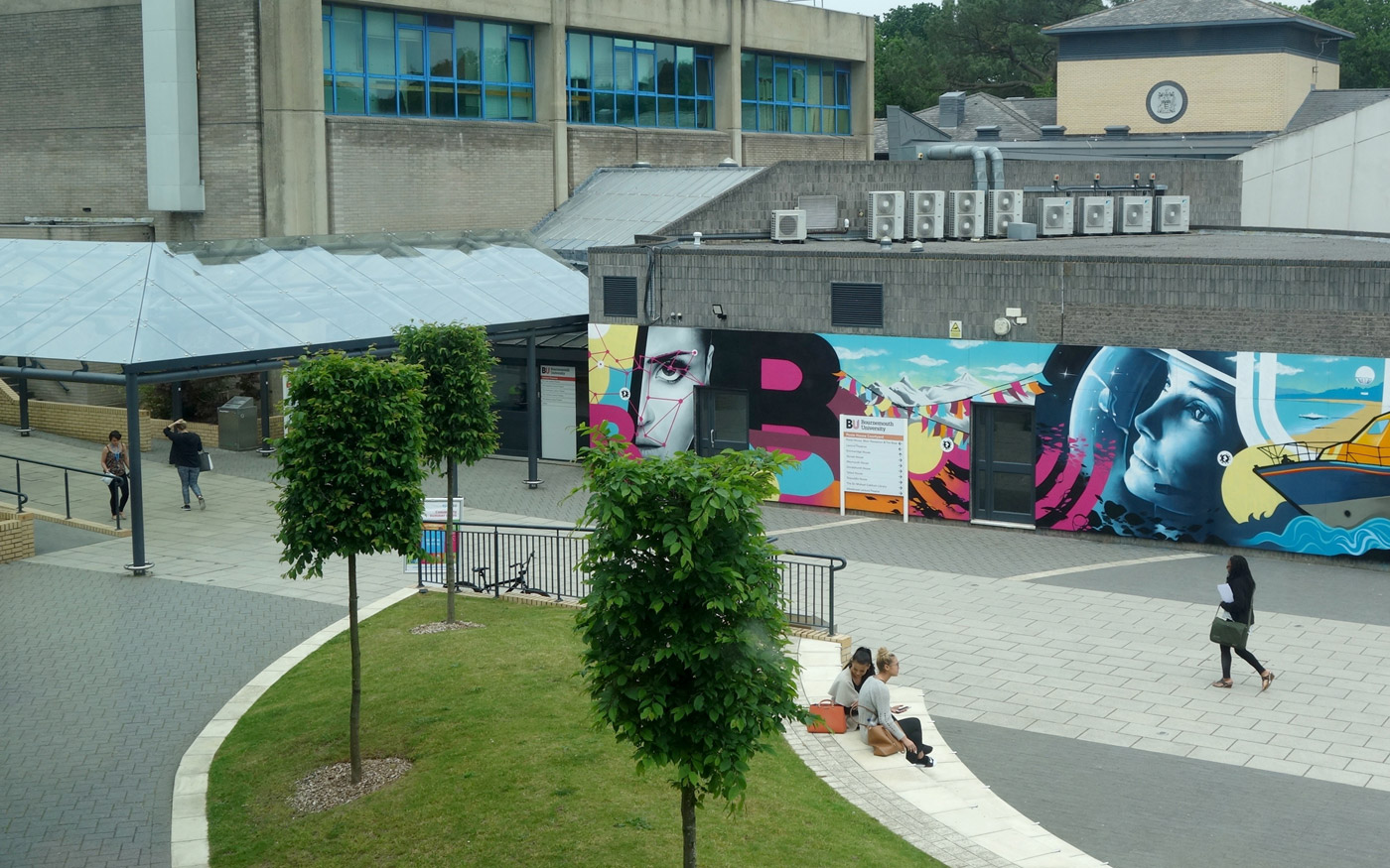 Bournemouth University FUSION MURAL