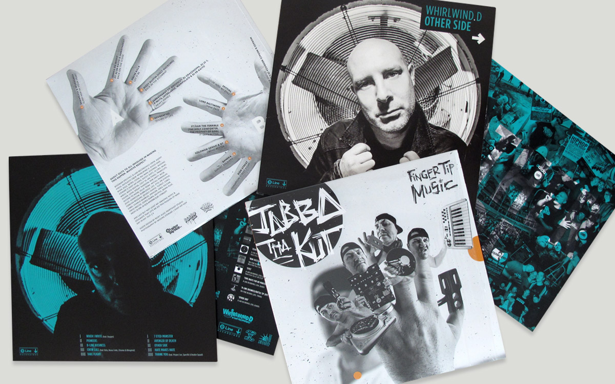 B LINE RECORDINGS ALBUM ARTWORK DESIGN PAINTSHOP