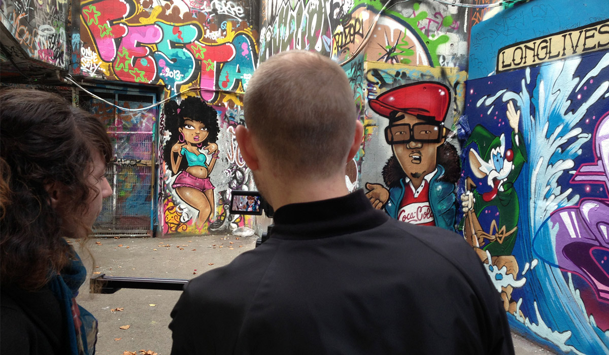 DJ Format & Phill Most Chill Graffiti Street Art Promo in London for The Foremost Album Paintshop