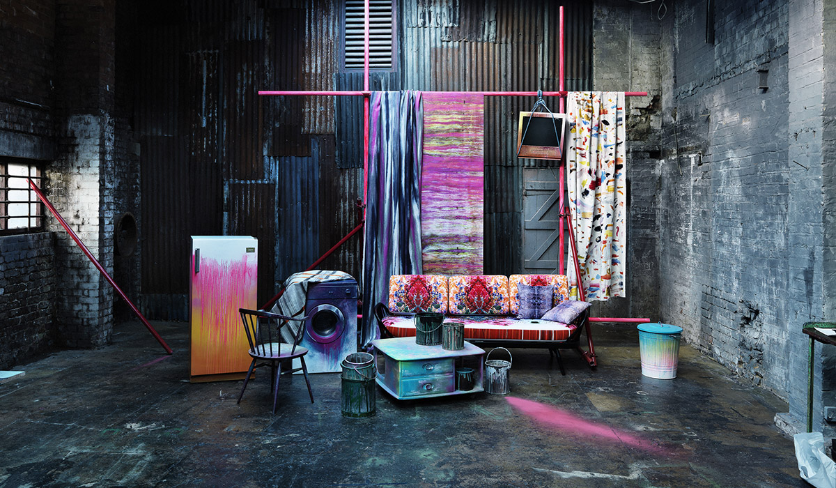 Homes & Garden Magazine Trends Supplement Spring Summer 2014 Graffiti Furniture Styling Paintshop